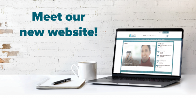 Meet Our New Website!
