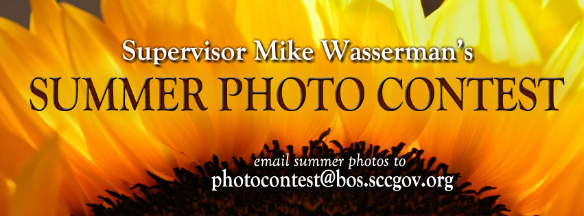 Supervisor Mike Wasserman's Summer Photo Contest