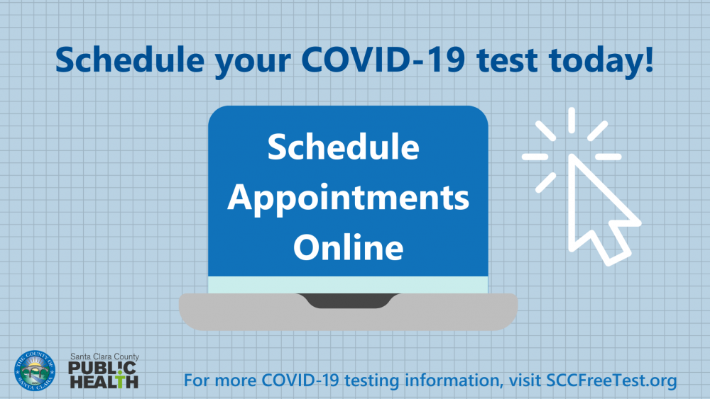 Schedule your COVID-19 test today! Schedule appointments online.
