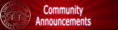 Community Announcements