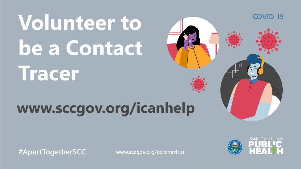 Volunteer to be a Contact Tracer