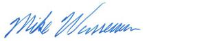 Mike Wasserman's signature